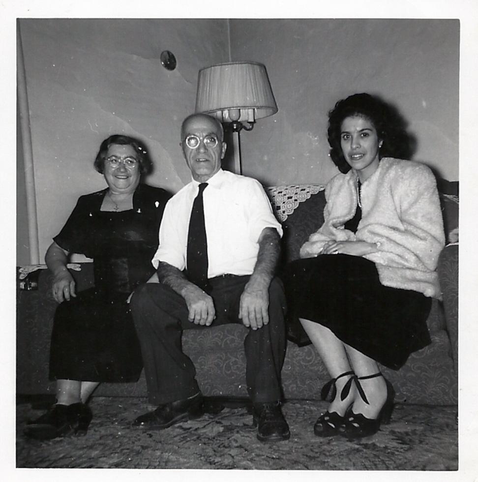 Great Grandma & Grandpa Servadio, and the woman, the myth, the legend: Gram